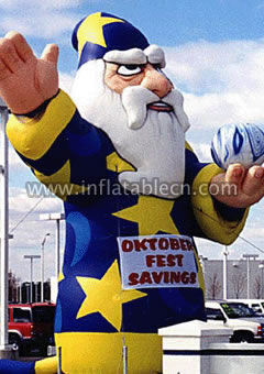 Inflatable Christmas products for advertising