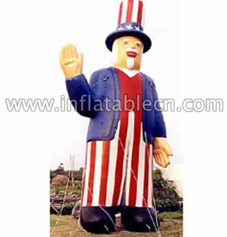 inflatable USA Guy