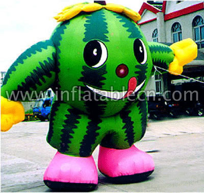 Watermelon Man Inflatable Moving Cartoon