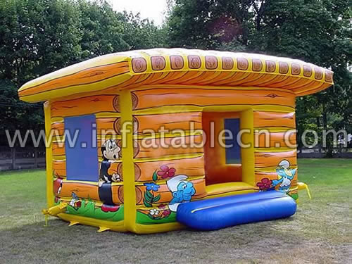 Inflatable Smurf Bounce House