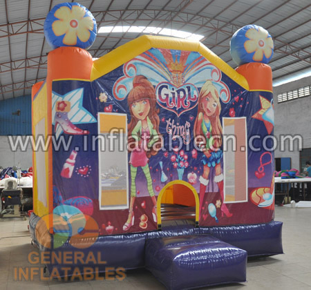 Girl's thing bounce house