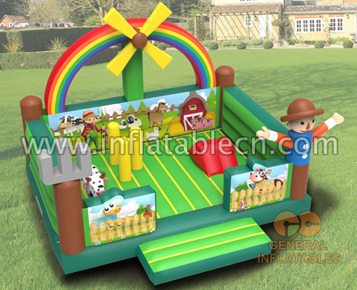 Farm bouncy castle