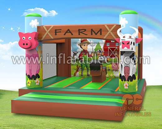 Farm bounce house