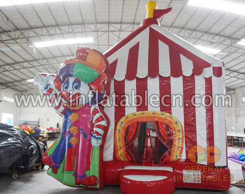 Circus show bounce house