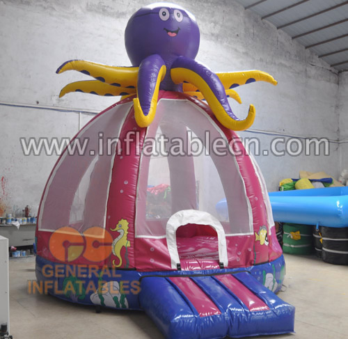 octopus inflatable bouncers
