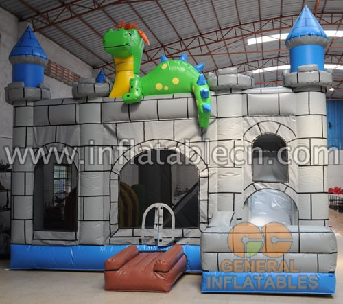 Inflatable Dino castle combos