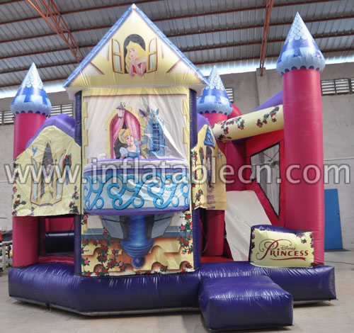 Princess combo inflatables
