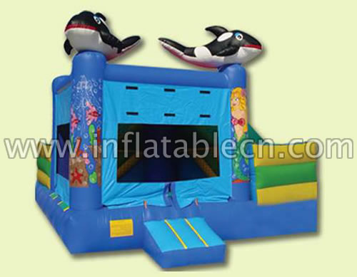 Inflatable cheap jumping castles