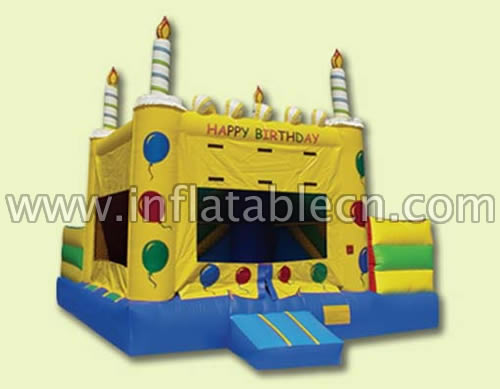 Inflatable childrens bouncy castles