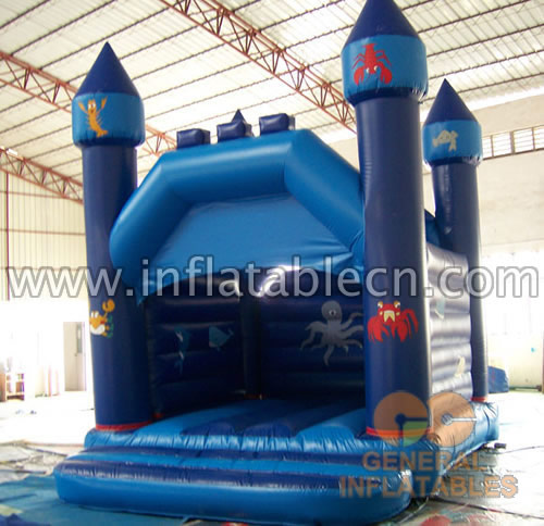 Inflatable Blue Sea Combo