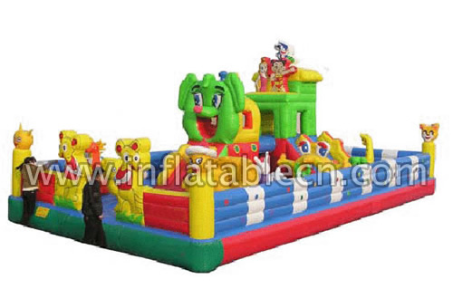 Inflatable Mice Funland