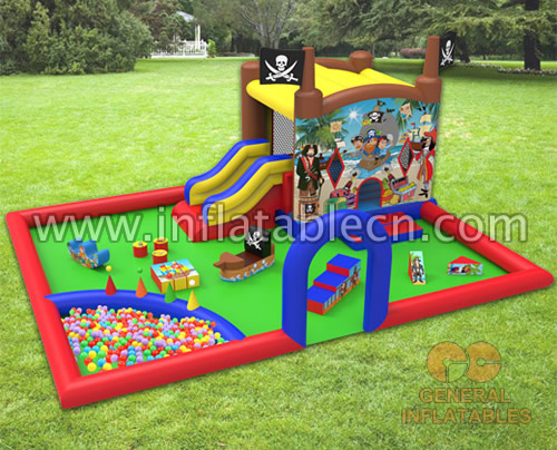 Pirate indoor playland with softplay and ball pond