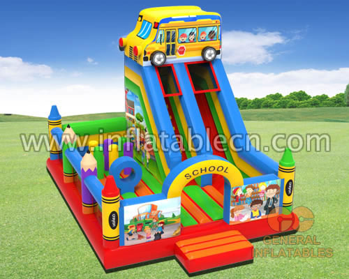 School bus playground