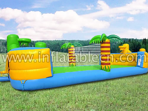Tropical Inflatable Badminton Court