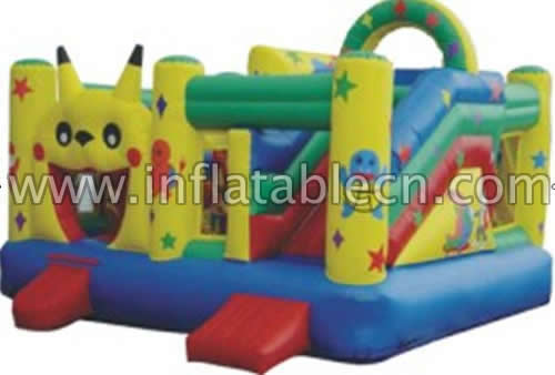 Inflatable Pikachu funland
