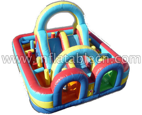 Inflatable Funland Combo & Race Cource
