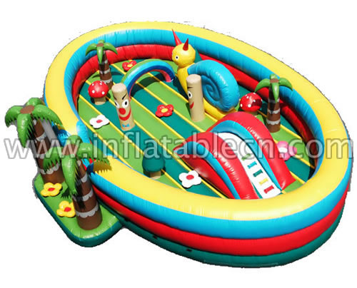 Happy Kids Land Inflatable Funland & Toddlers funland