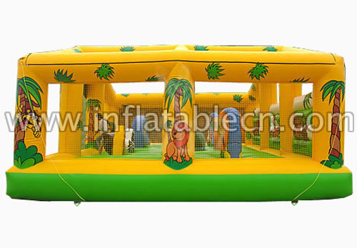Jungle funland inflatables