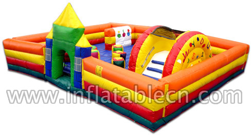 Bouncy Funland Inflatable For Sale