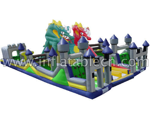 Inflatable Dragon Castle