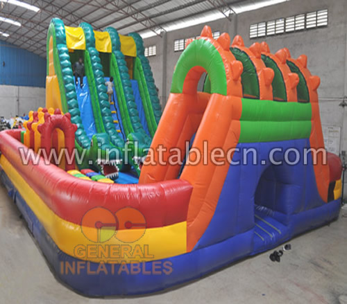 Dragon obstacle funland