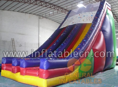 Inflatable Holiday Two Lanes Slides