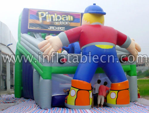 Inflatable Pinball Slides
