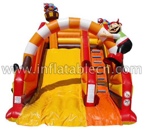 Inflatable Pirates Slides