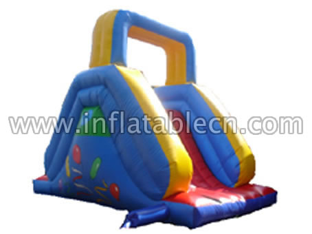 Inflatable water slides on sale