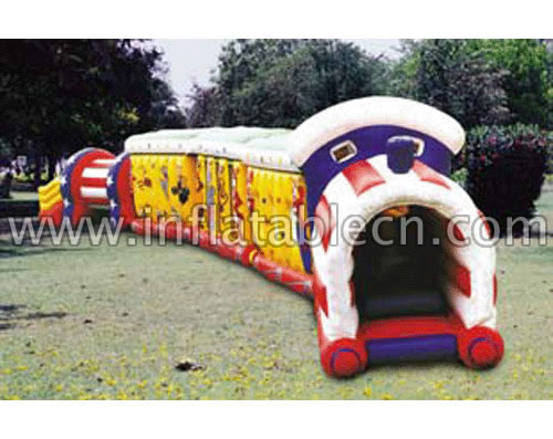 Inflatable funtime bounce tunnels