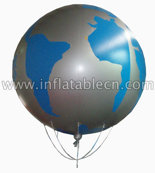 Inflatable balloon advertising on sale