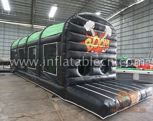 Boom obstacle course