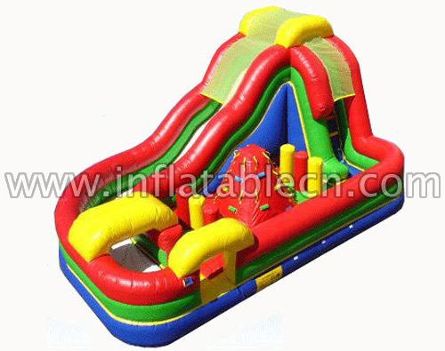 Rockin Ride Obstacle Inflatable