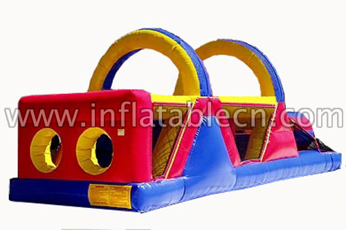 Double V Inflatable Obstacle