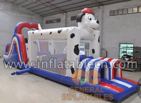 Dalmatian obstacle course