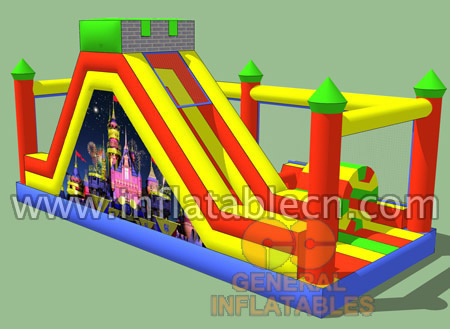 Inflatable castle obstacle for sale