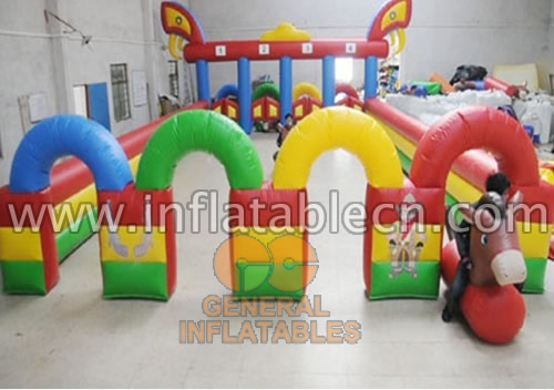 Inflatable Pony-Hop Racer