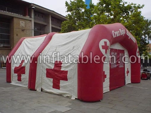 Inflatable Red Cross Tent