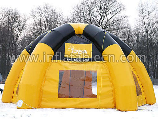 Inflatable tents on sale in China