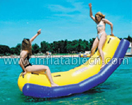 Inflatable Banana Water Teeter Totter