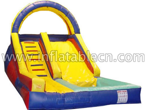 Inflatable Broad Lane Slide & Front Load Water Slides
