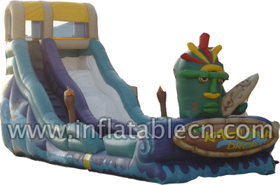 Inflatable Tribe Water Slide
