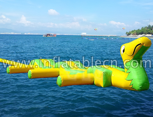 Inflatable Floating Snake