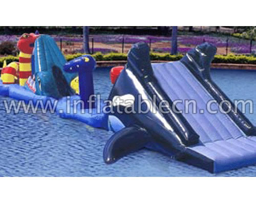 Inflatable Whale Water Bridge