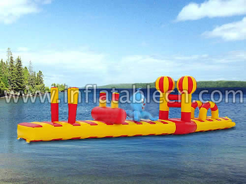 Inflatable Floating Obstacle Course