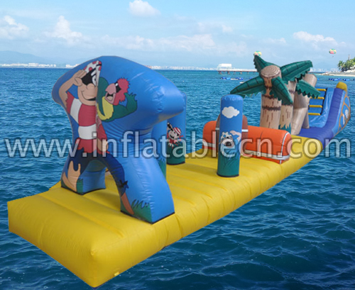 Cartoon Funland Inflatable Water Games