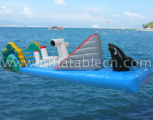 Inflatable Water Ship Obstacle Game