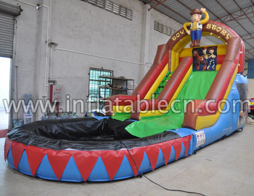 Themed water slide