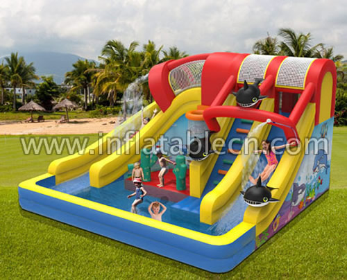 Cool your summer! water slide inflatables