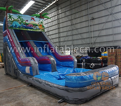 Jungle water slide
